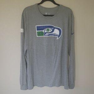 Nike Seattle Seahawks NFL Long sleeve Shirt XXL